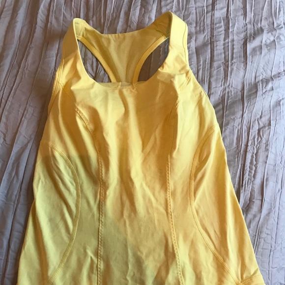 lululemon athletica Tops - Yellow Lululemon tank